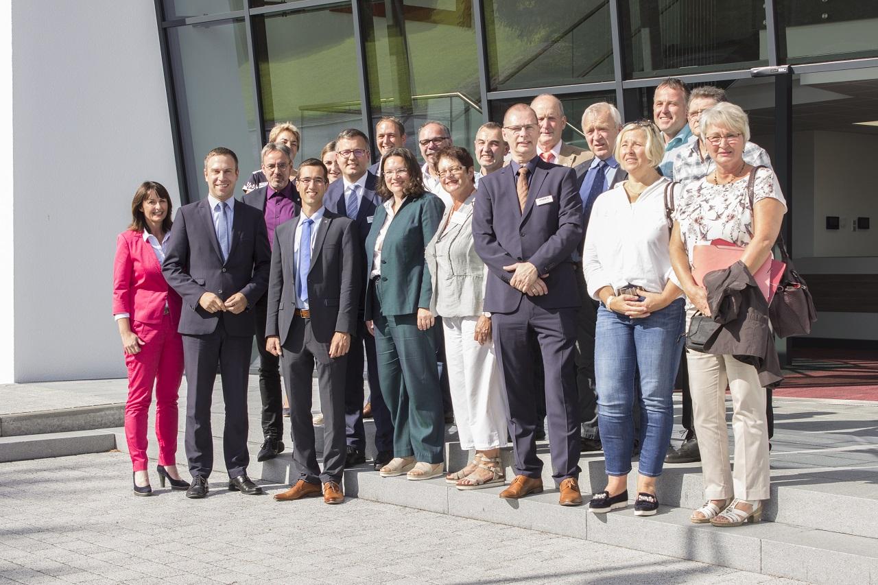Hoher Besuch bei STREIF in Weinsheim