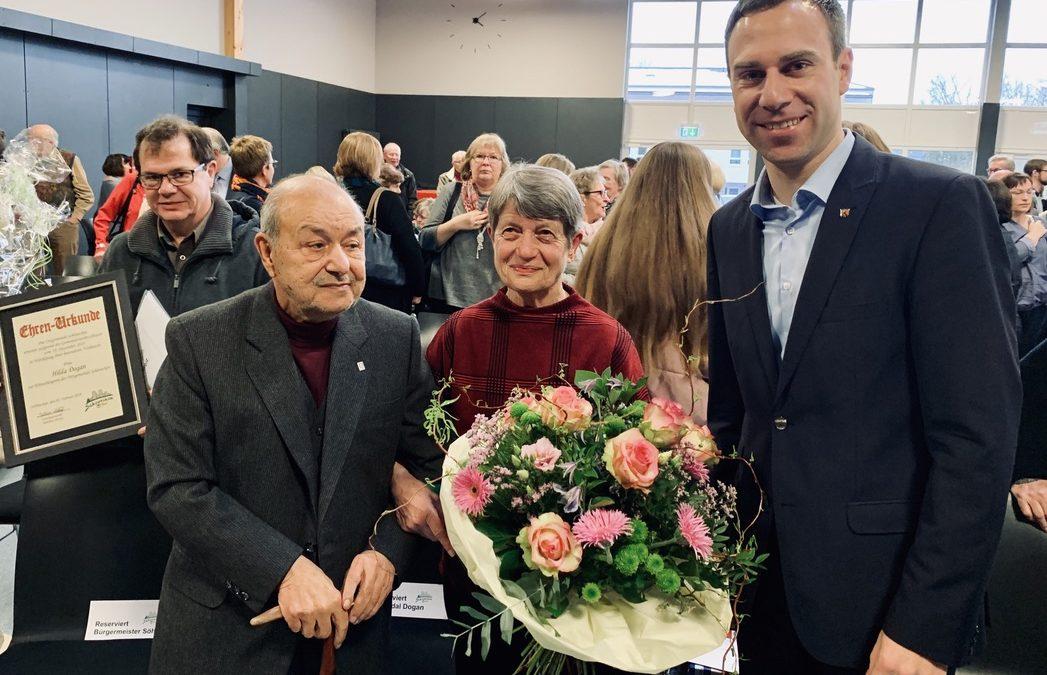 Ehrenbürgerwürde für Dr. Erdal und Hilde Dogan