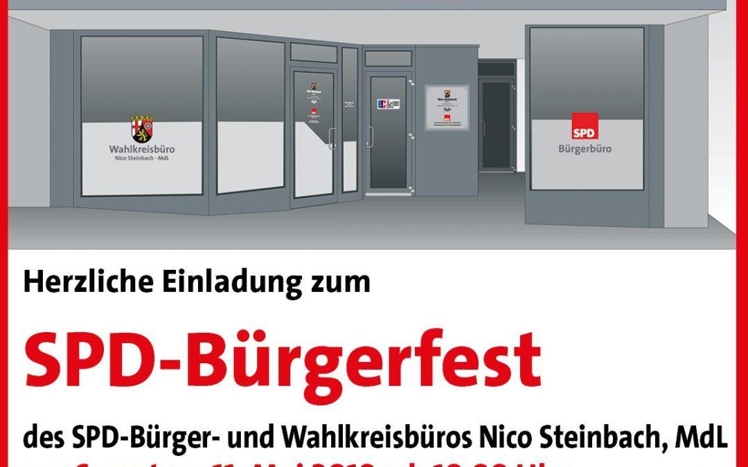 Einladung zum SPD-Bürgerfest